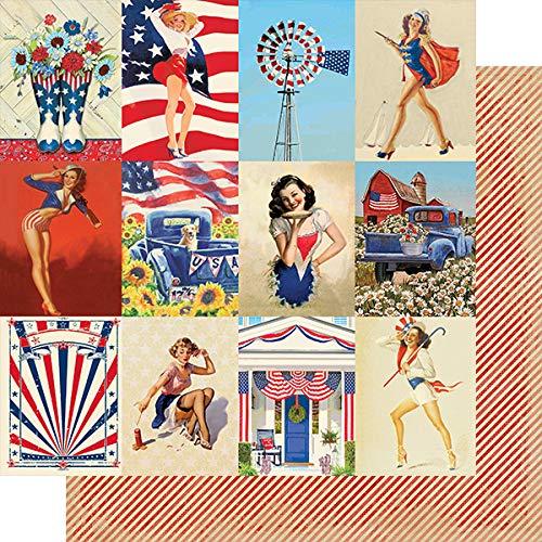 Authentique Paper''Liberty'' 6x6 Paper Pad by Authentique Paper (Image #2)
