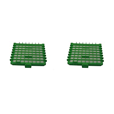 Green Label Lot de 2Filtre HEPA pour Rowenta Silence Force Extreme Compact Ro564511aspirateurs (Compare au Zr002901)