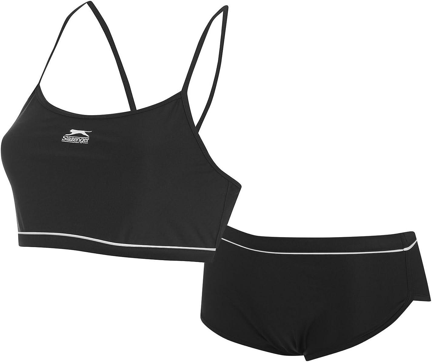 Slazenger Womens Sport Bikini Set Thin Straps Mesh Sports