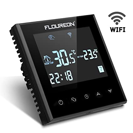 Smart WiFi LCD Touch Screen Thermostat Weekly Programmable Underfloor Temperature Controller Heating Thermostat