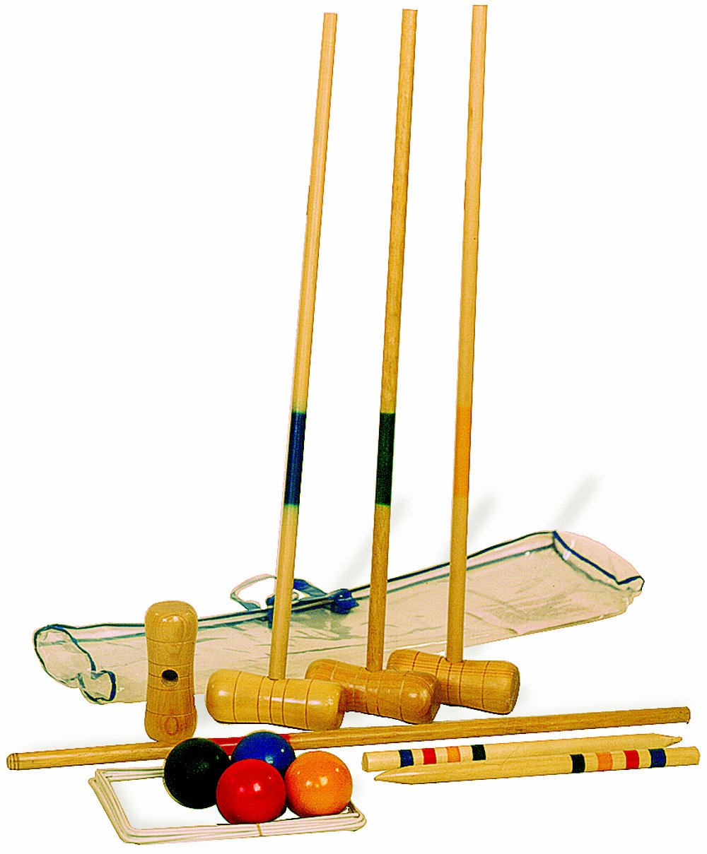 Small Foot Company 1050 Croquet Set by Legler