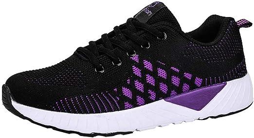 RYTEJFES Zapatos De Mujer De Moda Calzado Deportivo Zapatilla ...