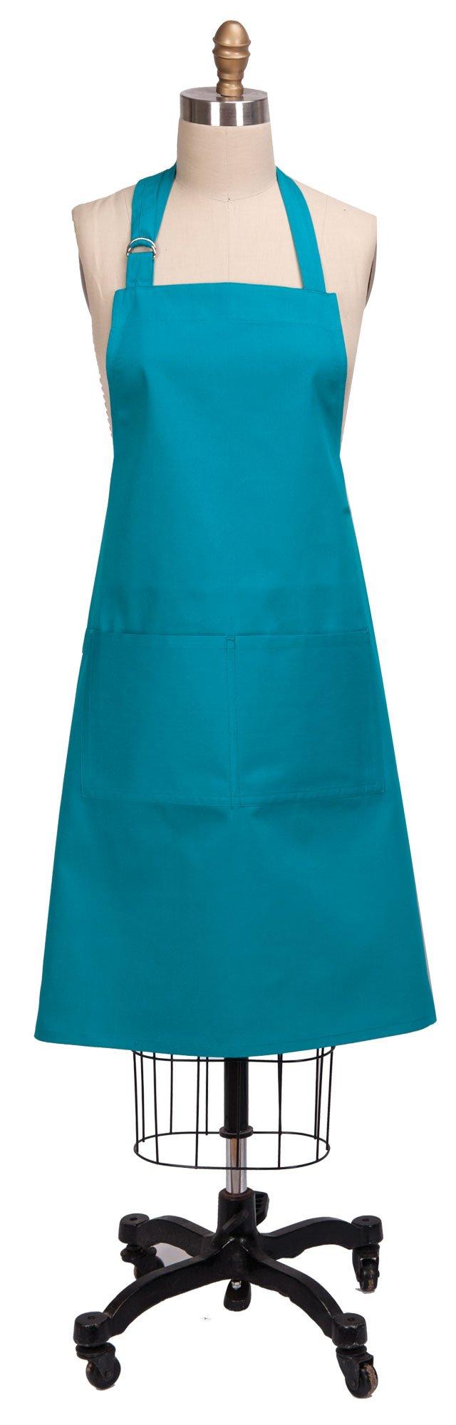 Kay Dee Designs R9261 Everyday Basics Chef Apron, Enamel