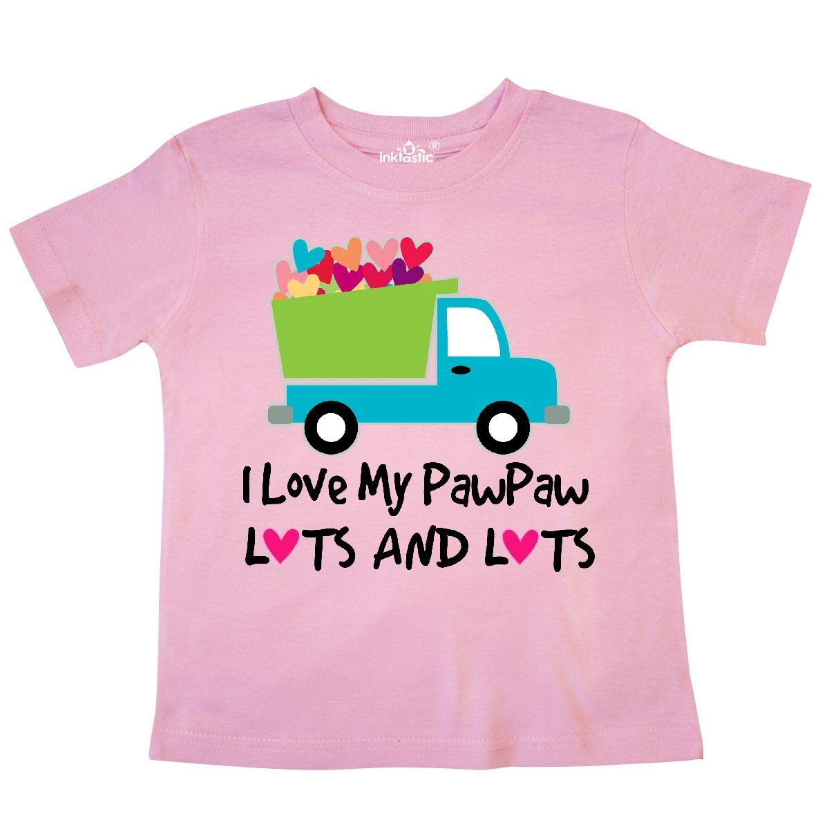 7d942af35 Amazon.com: inktastic - I Love My Pawpaw Toddler T-Shirt 236d2: Clothing