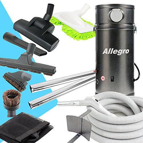 Allegro Central Vacuum Deluxe Straight Air Package for RVs Campers Trailers Yacht