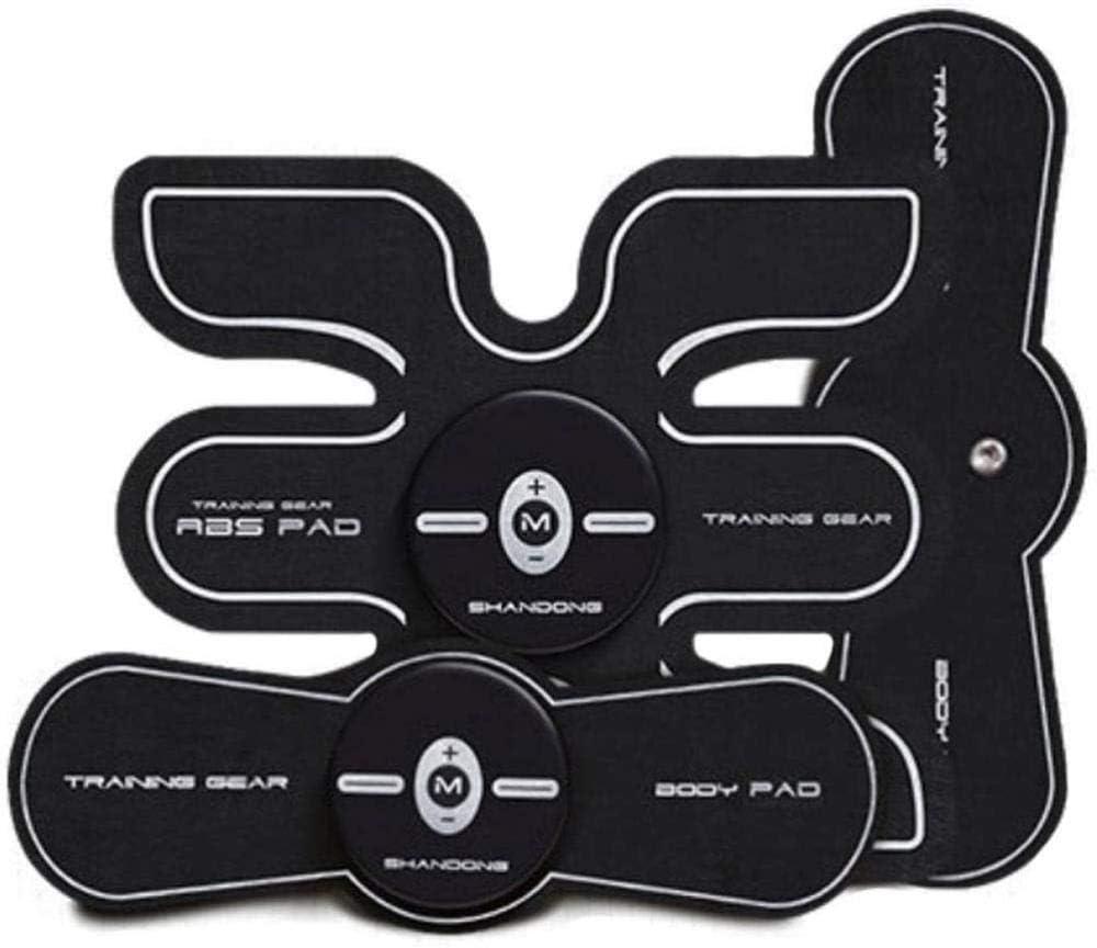 Ejercicio físico Estimuladores eléctricos EMS Entrenador de Abdominales Cinturón Abdominal Músculos Abdominales Toner Body Fit Cinturones tonificadores AB Toner Entrenamiento físico Máquina de engra