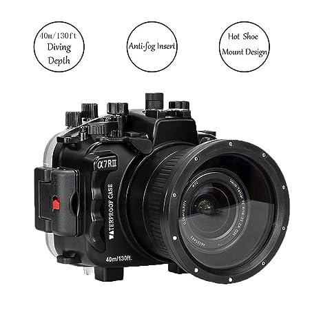 Funda impermeable para cámara para Sony A7R III, cubierta de lente ...