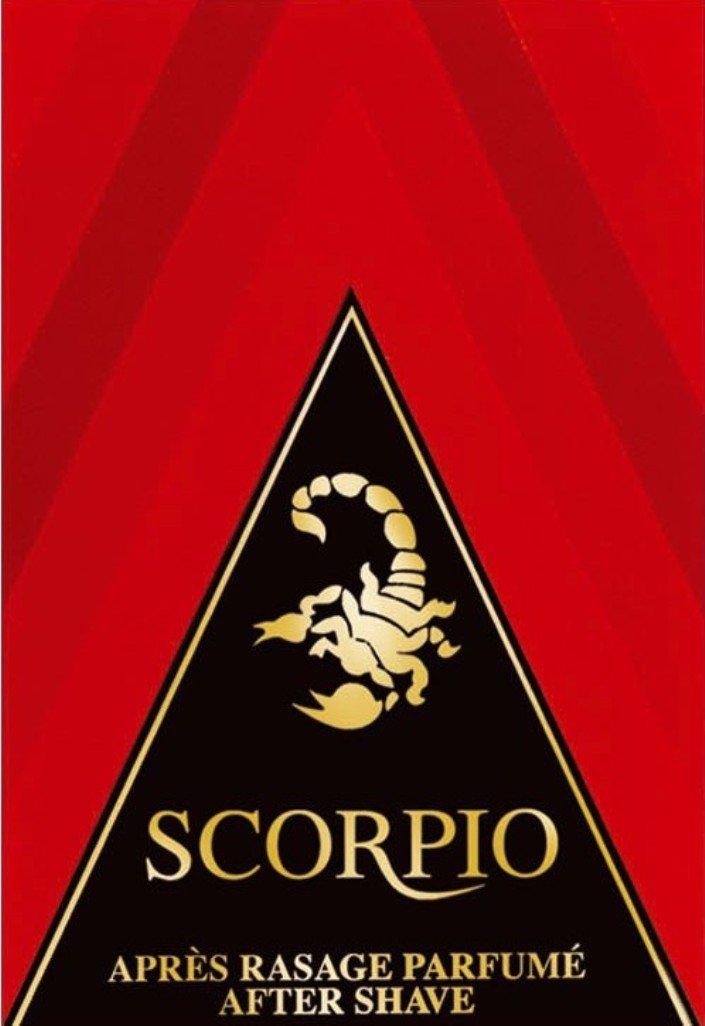 Scorpio - Après-Rasage - Rouge - Flacon 100 ml