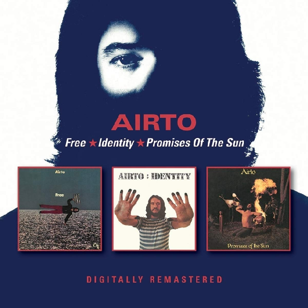 CD : Airto - Free /  Identity /  Promises Of The Sun (United Kingdom - Import)
