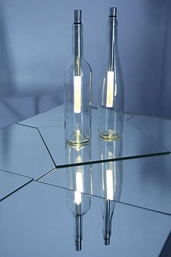 Bottle Light Flaschenleuchte SPARAKTION Bottlelight 1x 3er Set kaltweiß  LED