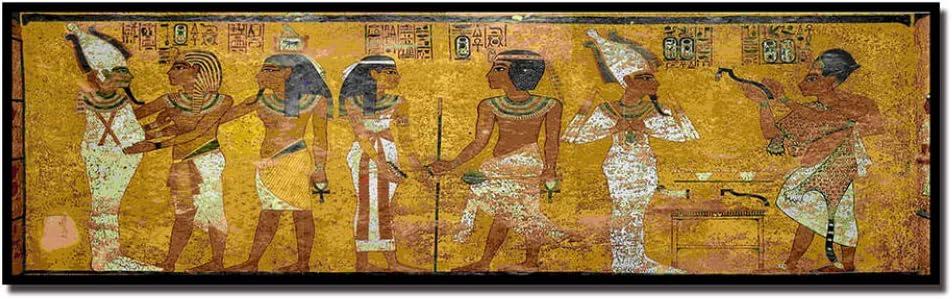 Mhy Rétro égypte Reine Cléopâtre Affiche Toile Hd