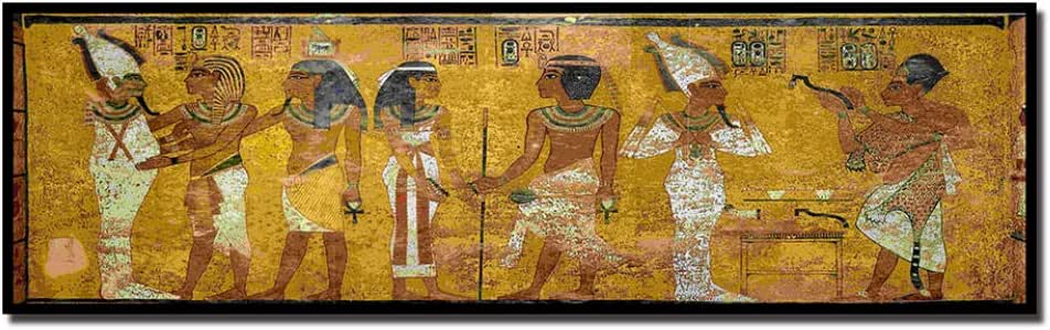 DMPro Retro Egipto Reina Cleopatra Cartel Lienzo Pintura