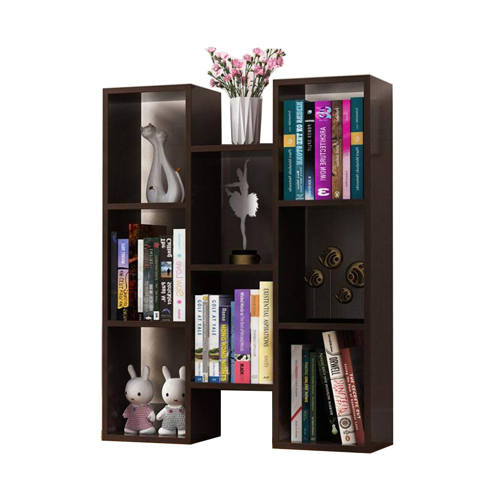 Qi Peng Bookshelf - Floor-Standing Multi-Function Multi-Shelf Storage Shelf 72.4 X 20 X 90cm (5 Colors to Choose from) (Color : D)