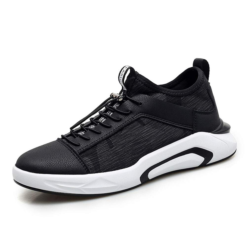 YAXuan Mens Casual Running Shoes Mens Trainers Lace-Up Running Shoes Lightweight Shock Absorption Outdoor Breathable Casual Walking Shoes,B,44