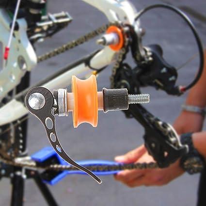 MOGOI Tenedor De Cadena De Bicicleta, Protector De Soporte De Cadena De Bicicleta Herramienta De