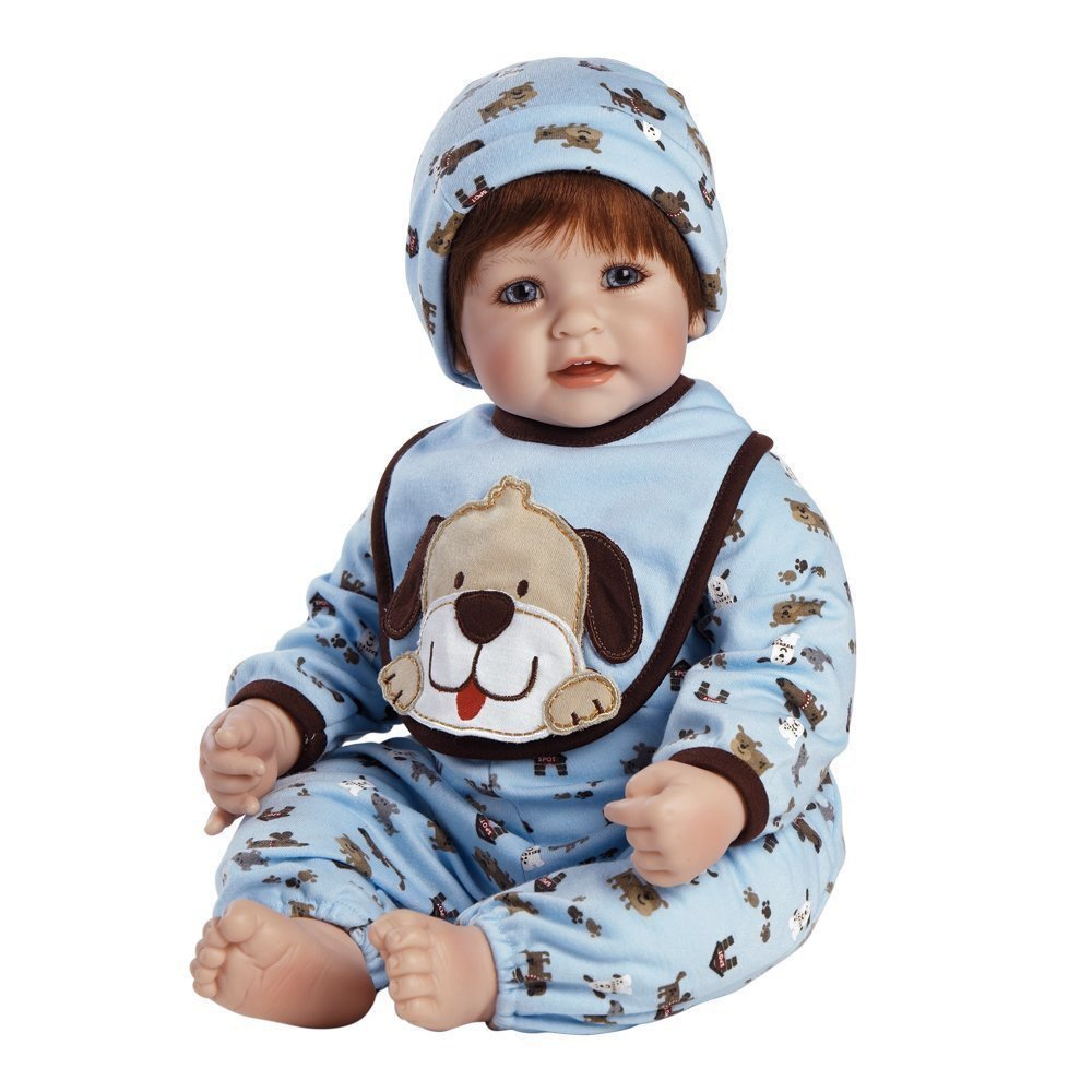 Superb Amazon Com Adora Toddler Woof 20 Boy Weighted Doll Gift Set For Hairstyles For Men Maxibearus