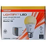 Sylvania Lightify by Osram Smart Home Starter Kit (A19 60W Bulb + Gateway)