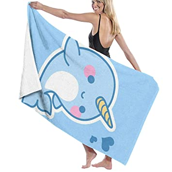 Sports Sweat Towels Cartoon Printed Design Microfiber Fabric Embroidered Blanket