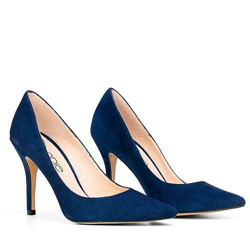 Piel Elodie Zapato Ante Shoes es De Kashmir Marino 38Amazon 0OPkXn8w