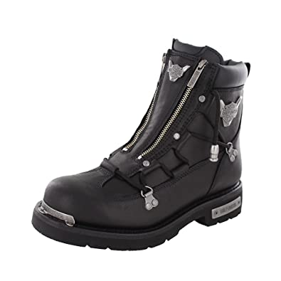Harley Davidson Mens Brake Light Riding Motorcycle Boot Black