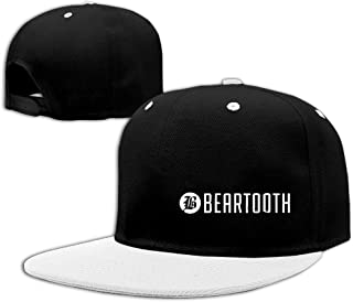 Trithaer Custom Adult Beartooth Adjustable Hip Hop Hat & cap, Blu Reale, Taglia Unica