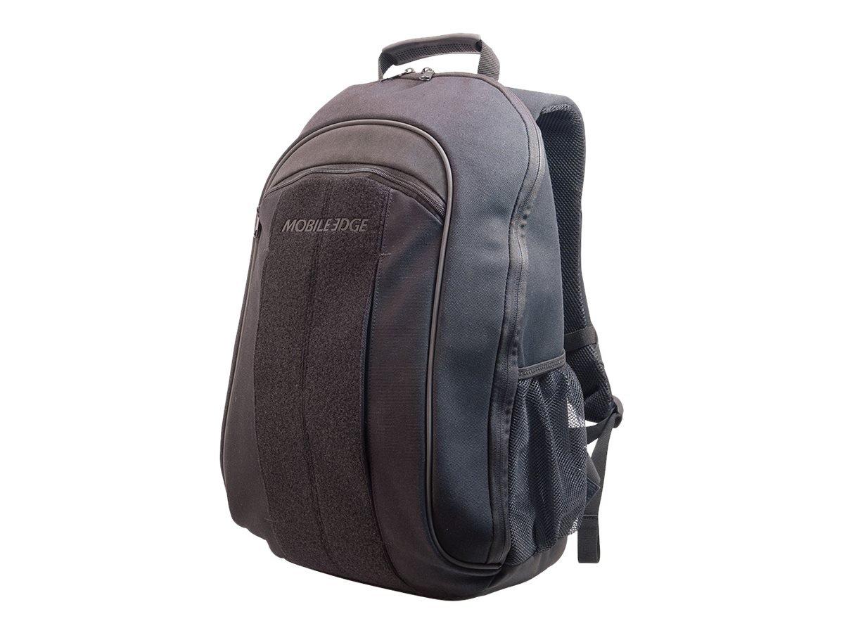 Mobile Edge Black 14 inch Laptop, Chromebook, Mac, Eco-Friendly Backpack, Cotton Canvas, for Men, Women Business, Students MECBPM1