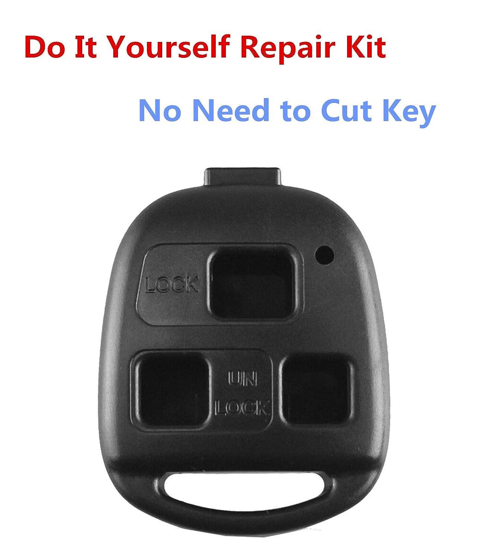 Amazon.com: Carcasa de repuesto para llave Lexus de 3 ...