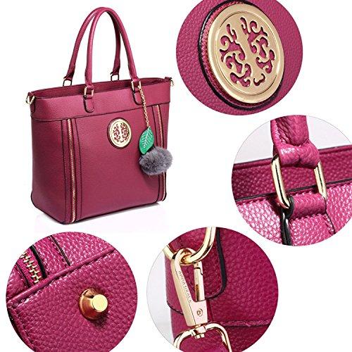 Xardi London, Borsa a spalla donna Purple Style 2