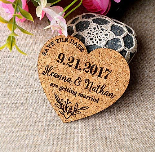 Save the date magnets for weddings save the date announcements wedding save the dates cork save the dates heart save the date magnets