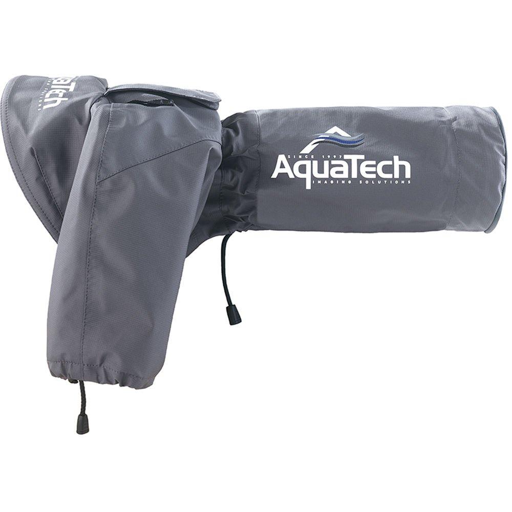 AquaTech Sport Shield Medium Rain Cover for Cameras and Lenses, Gray