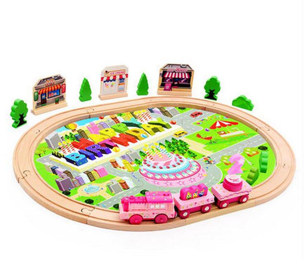 70%OFF Juguetes educativos para niños Pequeños juegos de tren de ...