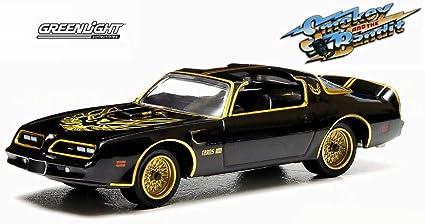"Pontiac trans am /""Smokey /& the Bandit/"" 1977 *** GreenLight 1:64"
