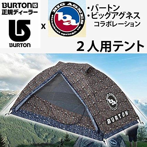 BURTON(バートン) BURTON バートン キャンプテント BLACKTAIL 2 TENT 2人用 GUATIKAT ビッグアグネス コラボレーション 14541104265 アウトドア   B06Y3YG26M