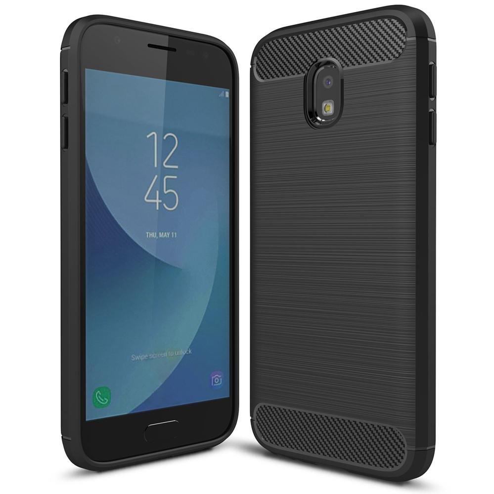 NALIA Funda Carbono Compatible con Samsung Galaxy J7 2017 (EU ...