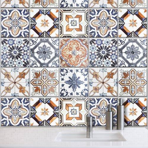 Piastrelle pvc cucina amazing ps adesivi murali in pvc for Stickers per mattonelle bagno