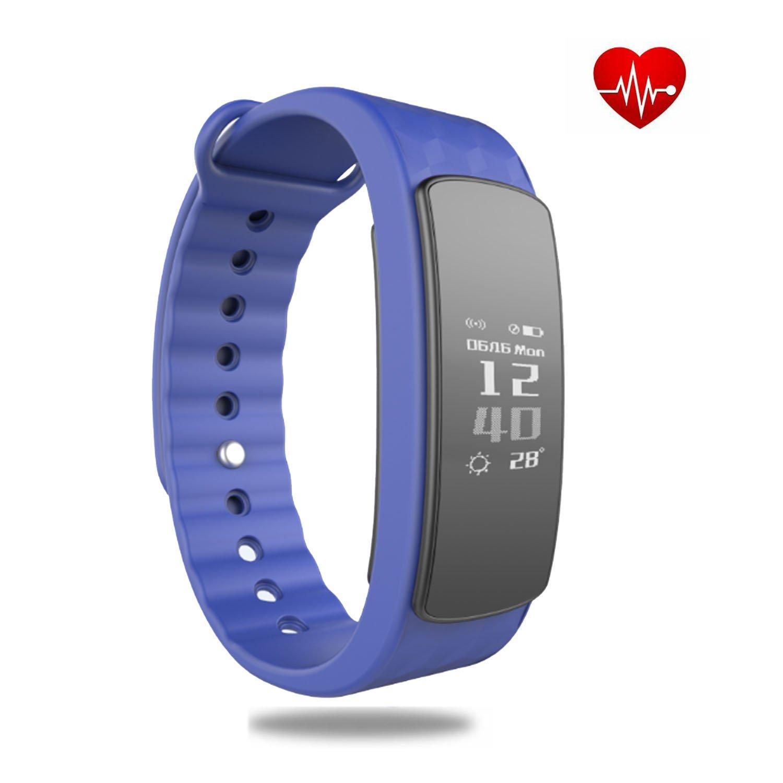 veriya Bluetooth Smart pulsera con monitor de frecuencia cardíaca rastreador de actividad