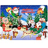 PigBangbang Deluxe Wooden 60 Piece Jigsaw Puzzle 8.85 X 11.8''Buy 1 Get 1 Free Anime Santa Claus