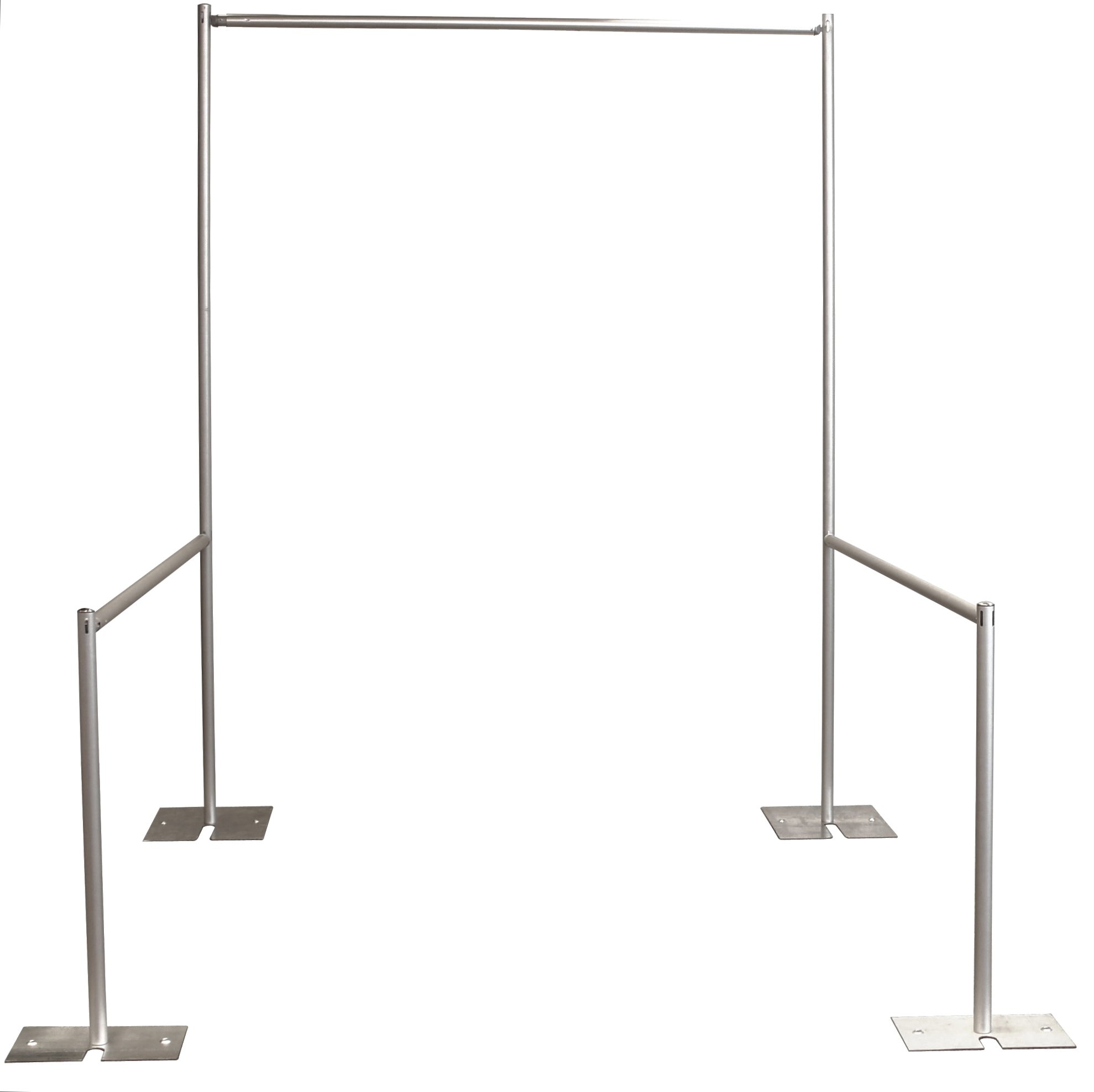 Single Premier Trade Show Display Booth Package 10 ft. x 10 ft. - Royal Blue by P.D.O.