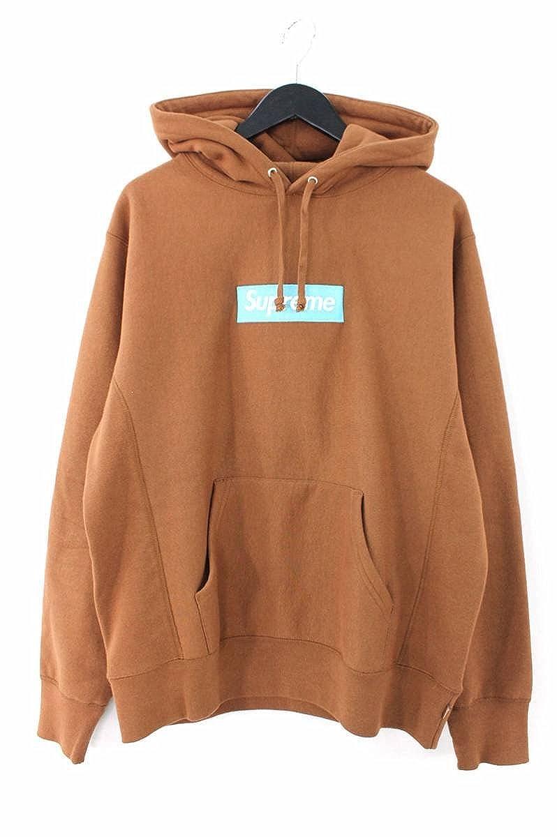 (シュプリーム) SUPREME 【17AW】【Box Logo Hooded Sweatshirt】ボックスロゴプルオーバーパーカー(M/ブラウン) 中古 B07FRDQQHJ