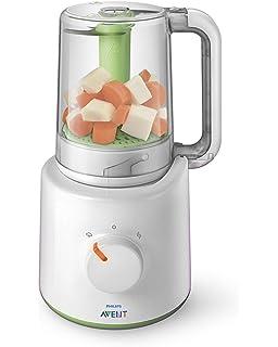 Babymoov procesador de alimentos para bebés Nutribaby classic color Crema – A001115: Amazon.es: Bebé