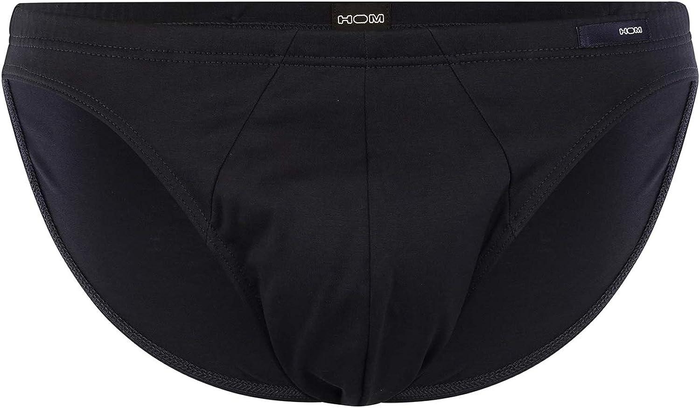 HOM Homme Premium Coton Comfort Micro Brève-Noir