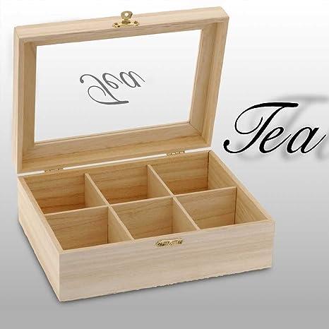 555Y41 - Caja Madera Para Te