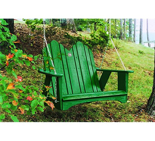 Uwharrie Chair Co 1052-41-Rustic Red-Dist-Pine Original Swing, Rustic (Uwharrie Swing)
