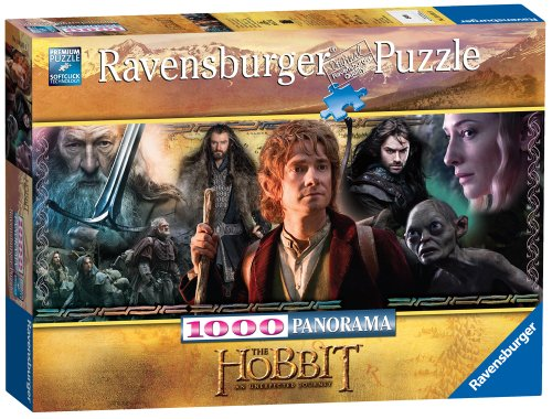 Ravensburger The Hobbit Return to Middle Earth Puzzle (1000 Pieces)
