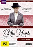 Agatha Christie's Miss Marple Body in Library / Moving Finger / A Murder is Announced DVD [Restored]