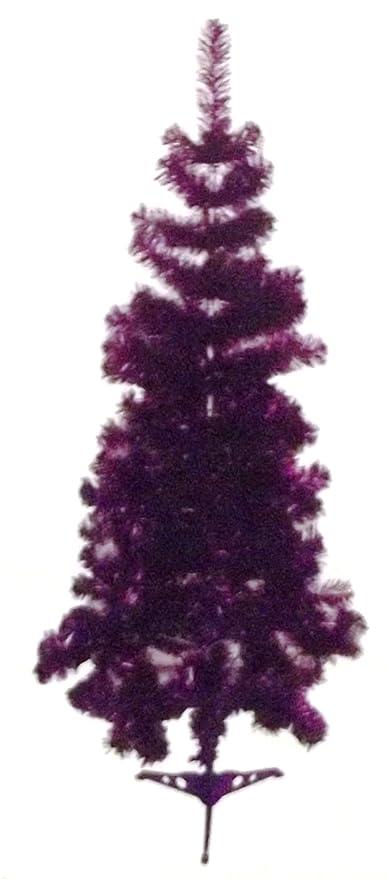 5ft Metallic Purple Christmas Tree Amazon Co Uk Kitchen Home