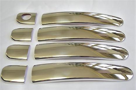Acero inoxidable y cromo para paneles para Seat Altea Arosa Cordoba Ibiza IV Toledo II Leon