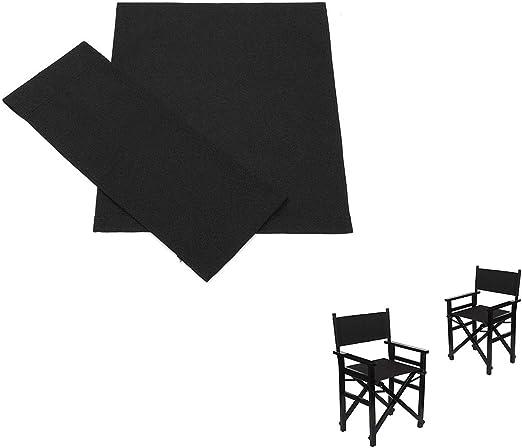 Verdelife Fodera per sedia regista,Kit di coprisedie di