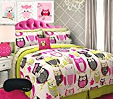 Home Style Trendy Owl Girl Teen QUEEN Comforter Review and Comparison