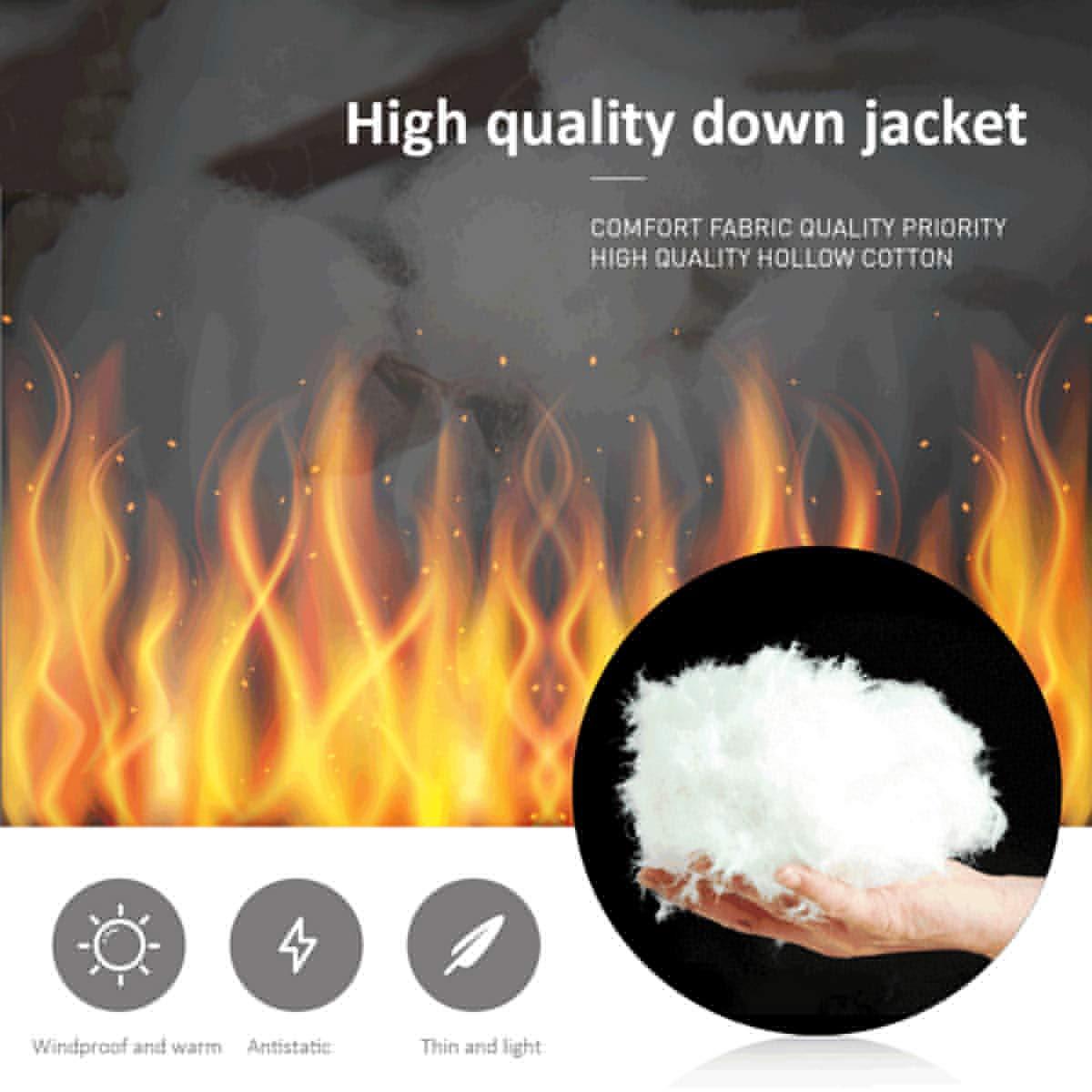 USB Riscaldata Vest Elettrico degli Uomini del Panciotto della Maglia Donna Cappotto Termico Giacca Softshell Heated Vest Riscaldamento Regolabile Blue-M